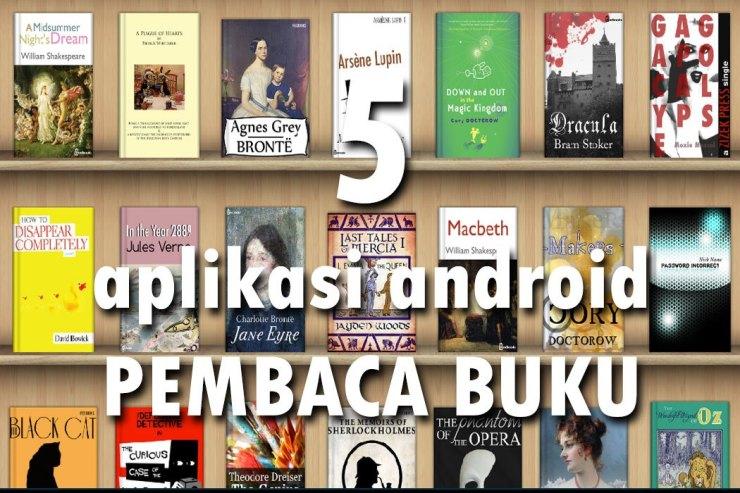 Aplikasi Android Terbaik Untuk Pembaca Buku