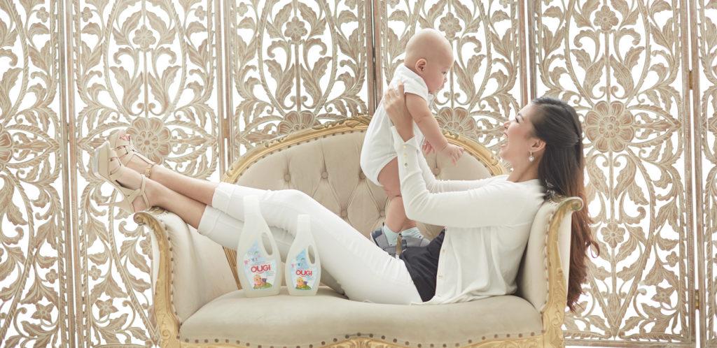 Ougi Detergent Anti Iritasi Untuk Mencuci Pakaian Bayi